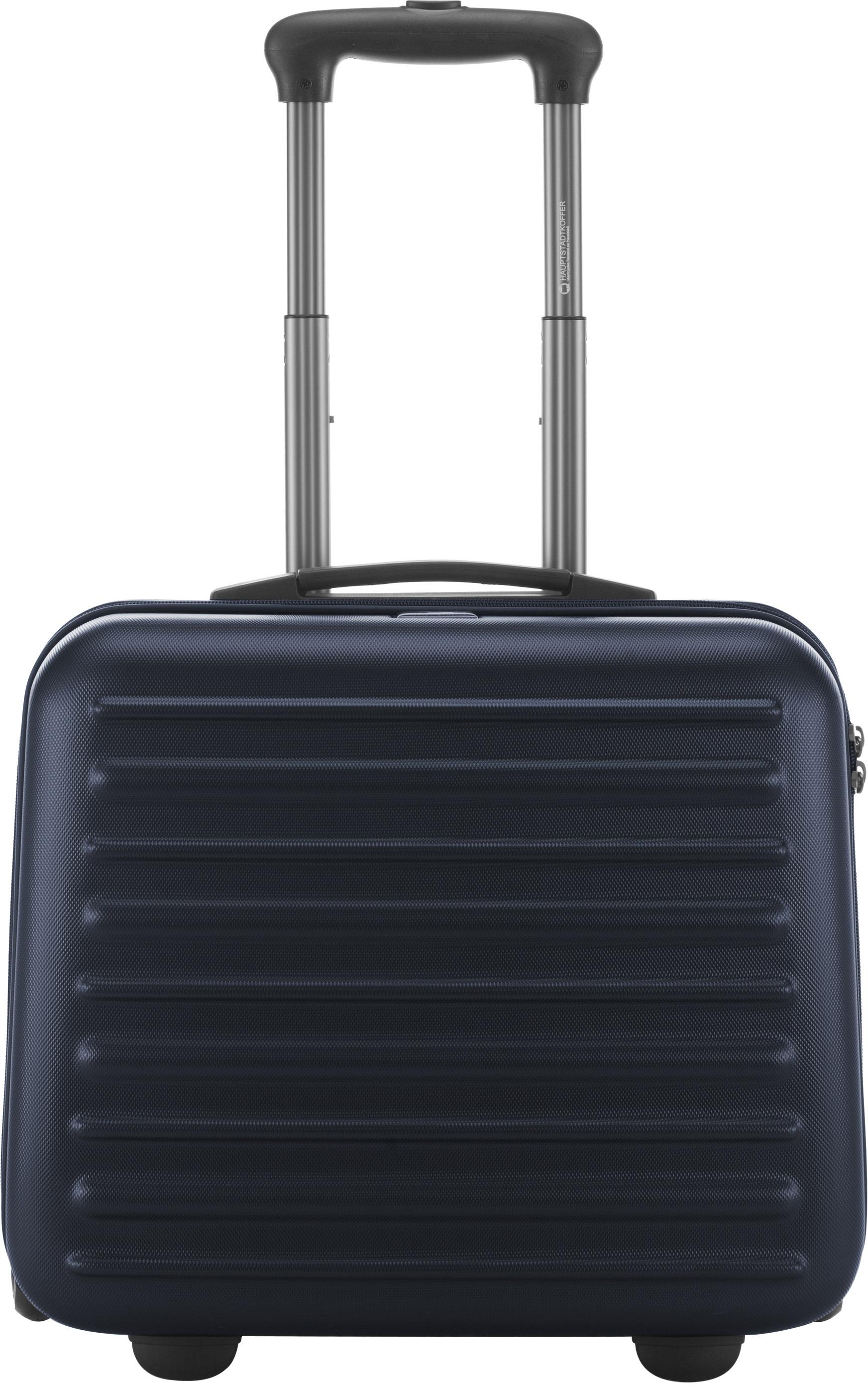 HAUPTSTADTKOFFER Pilotenkoffer mit 2 Rollen, »Tegel mit TSA Schloss« | Taschen > Koffer & Trolleys > Pilotenkoffer | hauptstadtkoffer