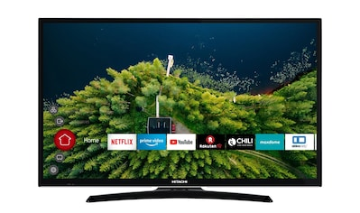 Hitachi LED - Fernseher (32 Zoll, HD ready, Smart TV, Triple Tuner) »H32E2000« kaufen