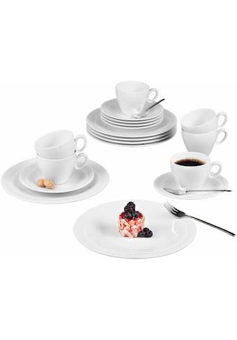 """Seltmann Weiden Kaffeeservice """"Trio"""" (18 - tlg.), Porzellan kaufen"""