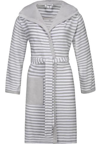 Damenbademantel »Striped Hoody«, Esprit kaufen