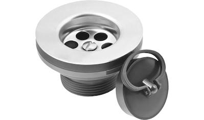 CORNAT Ablauf »Rezyklat Ablaufventil für Feuertonspülen«, Ø 50,5 mm, aus recyceltem Kunststoff kaufen