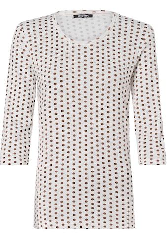 Olsen Print-Shirt, mit Pünktchen-Allover-Print kaufen