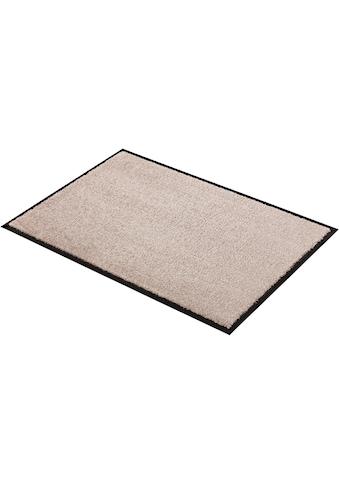 Fußmatte, »Miami Uni«, SCHÖNER WOHNEN - Kollektion, rechteckig, Höhe 7 mm, maschinell getuftet kaufen