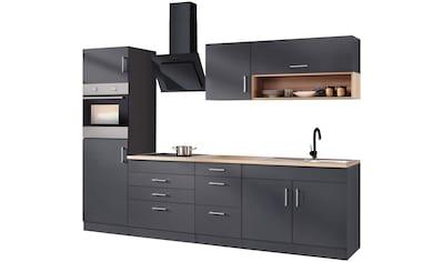 HELD MÖBEL Küchenzeile »Palermo«, mit E - Geräten, Breite 290 cm kaufen