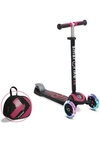 smarTrike® Dreiradscooter »T5, pink«, mit Federstahlbremse und T-Lock System kaufen