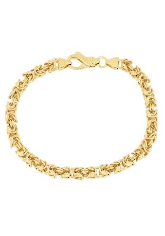 Firetti Armband »in Königskettengliederung, 5,0 mm, vergoldet, glanz, quadratisch« kaufen