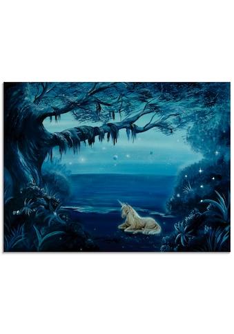 Artland Glasbild »Am See«, Animal Fantasy, (1 St.) kaufen