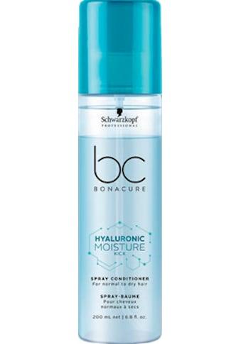 Schwarzkopf Professional Haarpflege-Spray »Bonacure Hyaluronic Moisture Kick Spray Conditioner«, Sprühconditioner kaufen