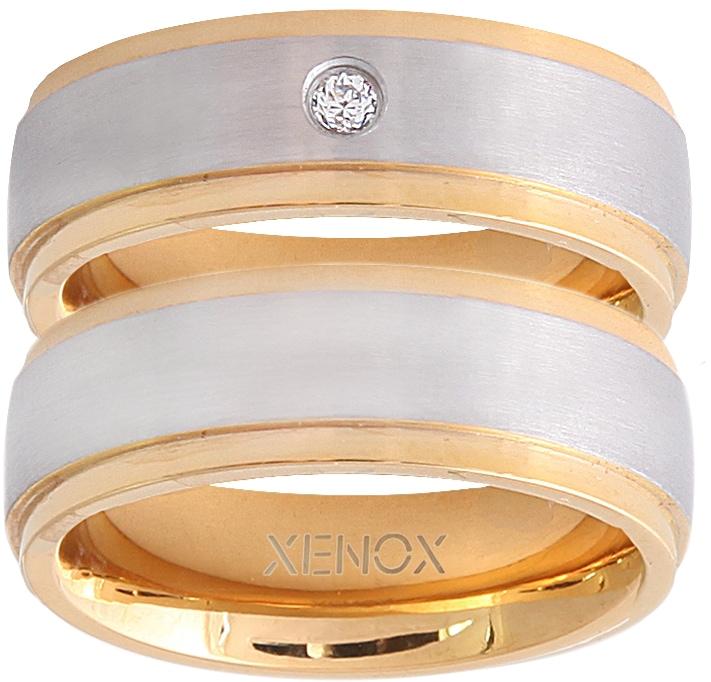 XENOX Partnerring »X2228, X2229« | Schmuck > Ringe > Partnerringe | XENOX