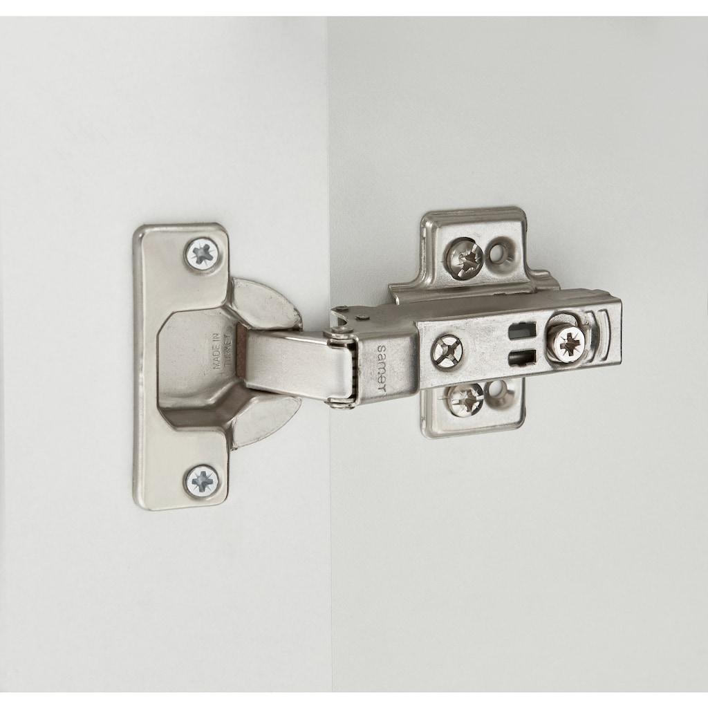 welltime Badmöbel-Set »Granada Waschplatz 80«, (Set, 3 St.), hängende oder stehende Montage möglich