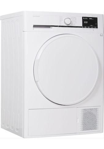 Sharp Wärmepumpentrockner KD - GHB7S7PW2 - DE, 7 kg kaufen