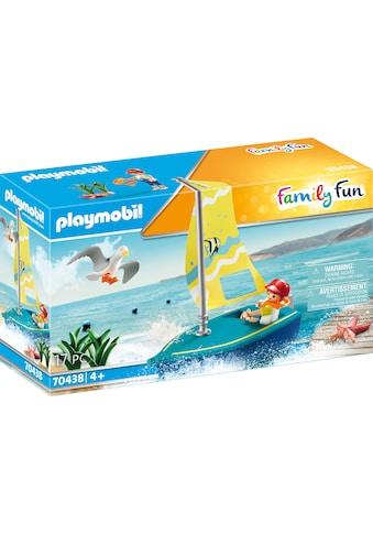 Playmobil® Konstruktions-Spielset »Segeljolle (70438), Family Fun«, (17 St.), Made in... kaufen