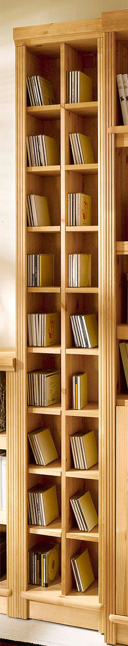 CD-Regal »Serie Soeren«, in 2 Höhen | Wohnzimmer > TV-HiFi-Möbel > CD- & DVD-Regale | SERIE SOEREN
