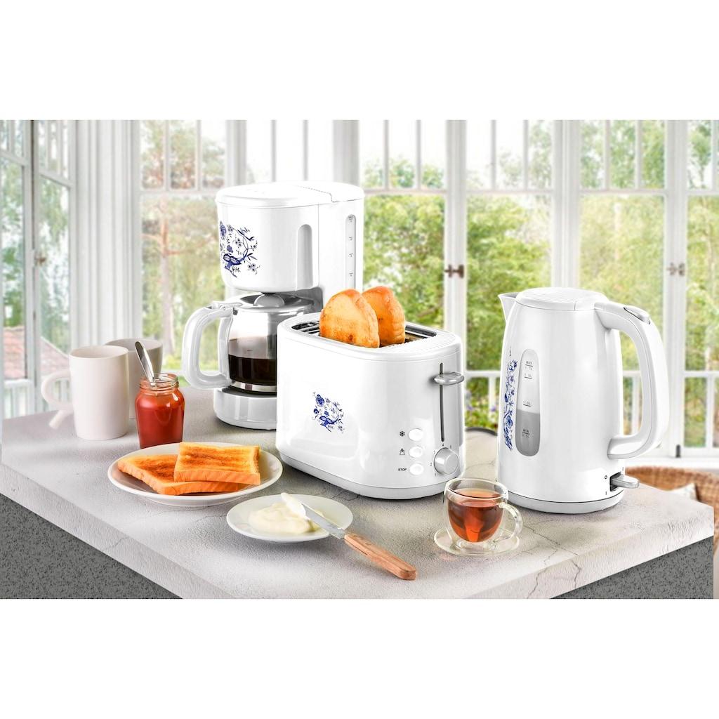 Efbe-Schott Toaster »SC TO 1080.1 ZWM«, 2 kurze Schlitze, für 2 Scheiben, 800 W