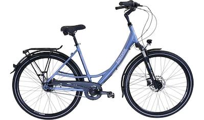 CAMAX Cityrad »CRISTAL BLUE METALLIC«, Shimano, NEXUS Schaltwerk, Nabenschaltung kaufen