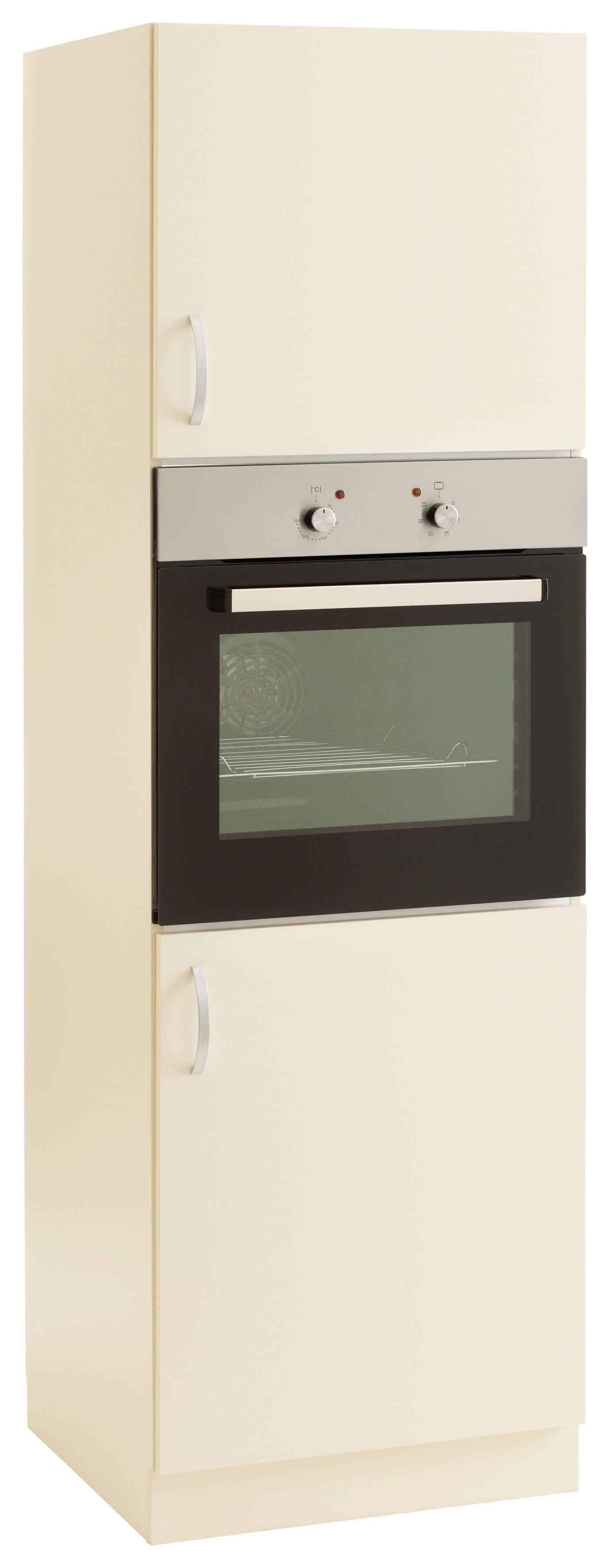 Backofenumbauschrank »Flexi«, Höhe 200 cm | Küche und Esszimmer > Küchenschränke > Umbauschränke | Gelb | QUELLE