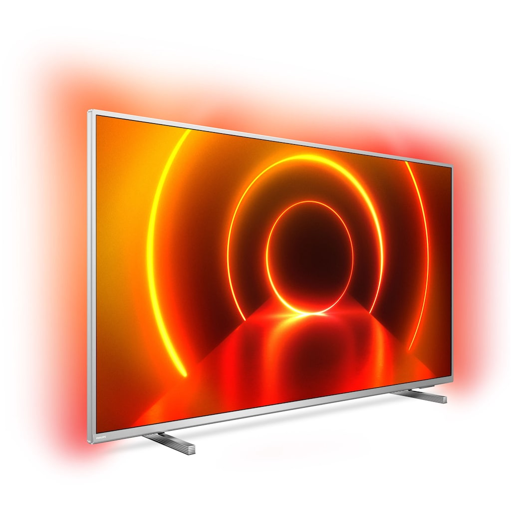 "Philips LED-Fernseher »70PUS8105/12«, 178 cm/70 "", 4K Ultra HD, Smart-TV, 3-seitiges Ambilght"
