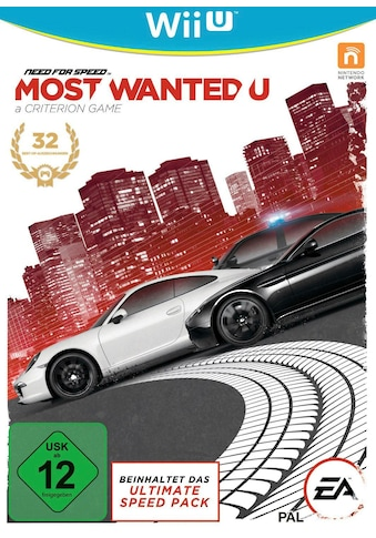 Electronic Arts Spiel »Need for Speed: Most Wanted U«, Nintendo Wii U, Software Pyramide kaufen