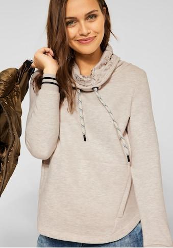 Cecil Sweatshirt, mit großem Schlauchkragen kaufen