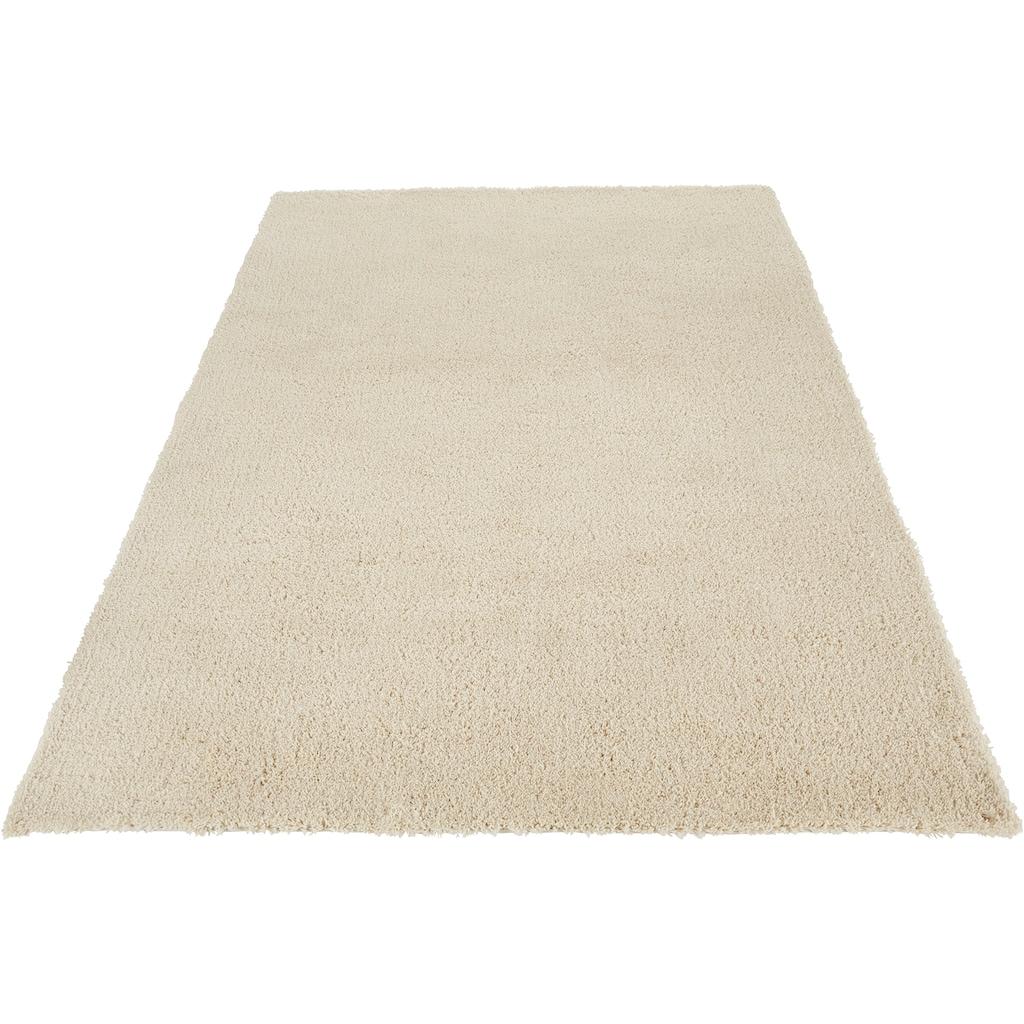 COUCH♥ Hochflor-Teppich »Auslegungssache«, rechteckig, 30 mm Höhe, besonders weich durch Microfaser, COUCH Lieblingsstücke