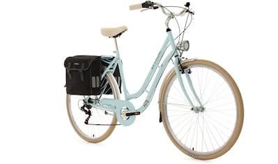KS Cycling Cityrad »Verona«, 6 Gang, Shimano, Tourney Schaltwerk, Kettenschaltung, (mit Doppeltasche) kaufen