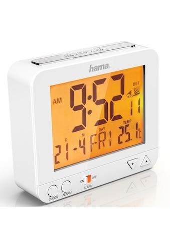 """Hama Funkwecker """"RC 550"""", mit Nachtlicht-Funktion, Weiß kaufen"""