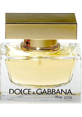 "DOLCE & GABBANA Eau de Parfum ""The One"" kaufen"