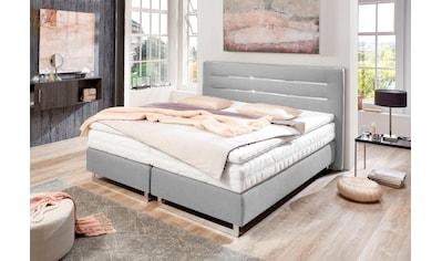 Westfalia Schlafkomfort Boxspringbett, mit verchromten Kufen, in diversen Ausführungen kaufen