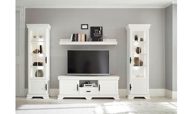 Home affaire Wohnzimmer-Set »Royal«, (4 St., bestehend aus 2 Vitrinen, 1 Lowboard und... kaufen