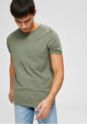 SELECTED HOMME T - Shirt »MORGAN O - NECK TEE« kaufen