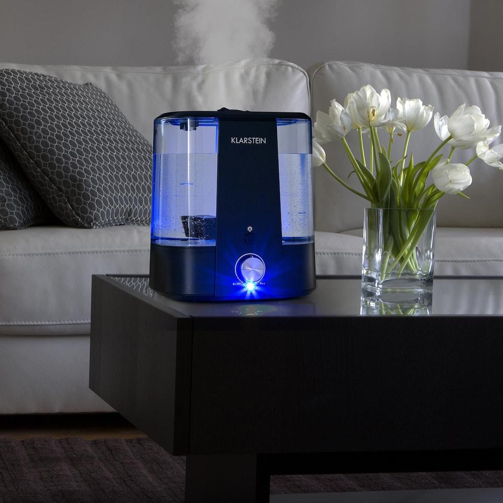 Klarstein Ultraschall-Luftbefeuchter Aroma-Diffusor 6l LED-Licht schwarz