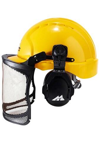 UNIVERSAL Sicherheitshelm »PRO016, 00057 - 76«, mit Gehör -  und Sichtschutz kaufen