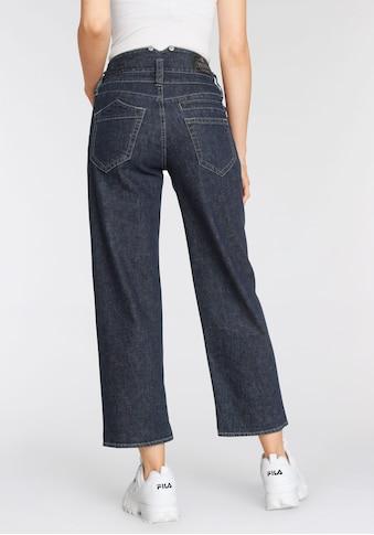 Herrlicher High-waist-Jeans »PITCH HIGH TAP«, Less Water kaufen