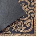DELAVITA Fußmatte »Home ornament«, rechteckig, 6 mm Höhe, Schmutzmatte, mit Spruch, In- und Outdoor geeignet