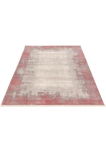 my home Teppich »Stella«, rechteckig, 6 mm Höhe, Modernes Design, Größe 1+2 wird ohne... kaufen