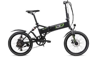 LLobe E - Bike »City III schwarz«, 7 Gang Shimano Kettenschaltung, Heckmotor 250 W kaufen