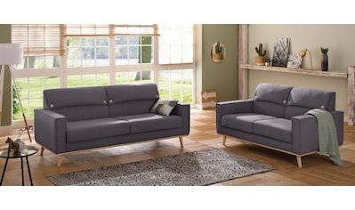Home affaire Sitzgruppe »Fjord« (Set, 2 - tlg) kaufen