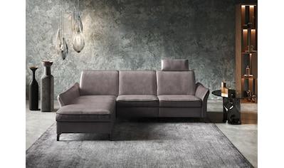 himolla Ecksofa »1920«, ein oder zwei integrierte Relaxsitze, Recamiere rechts oder... kaufen