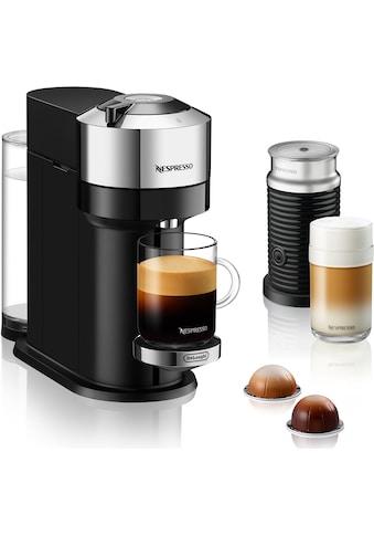Nespresso Kapselmaschine »ENV 120.CAE Vertuo Next Deluxe«, inkl. Aeroccino Milchaufschäumer, chrom kaufen