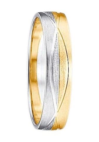 Firetti Trauring mit Gravur »Seidenmatt, Diamantschnitt in Form... kaufen