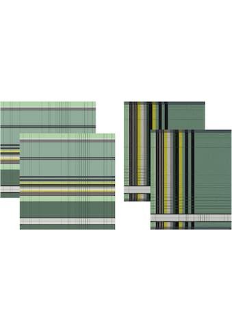 DDDDD Geschirrtuch »Helsinki«, (Set, 4 tlg., Combi-Set: bestehend aus 2x Küchentuch +... kaufen