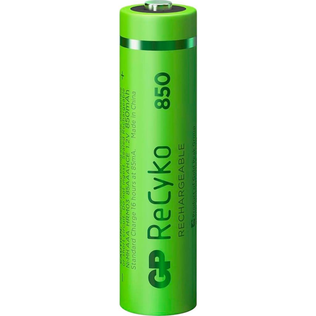GP Batteries Akku »AAA Akku GP NiMH 850 mAh ReCyko 1,2V 4 Stück«, AAA