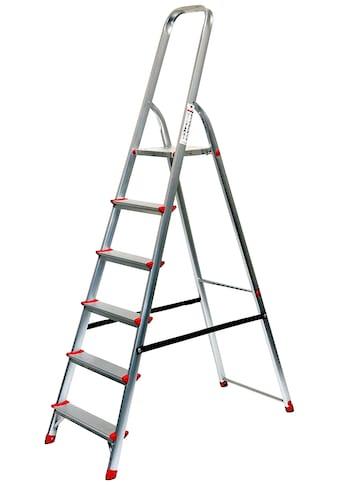Stehleiter 3,30 m, 6 - stufig kaufen