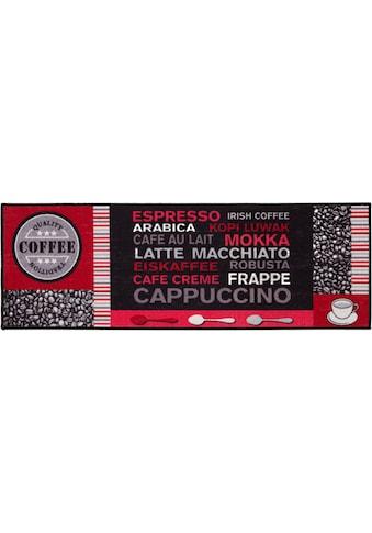 Andiamo Küchenläufer »Cafe Creme«, rechteckig, 4 mm Höhe, mit Schriftzug kaufen