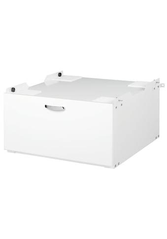 Xavax Unterbausockel für Waschmaschinen und Trockner »mit Schublade, 61 x 60 cm« kaufen