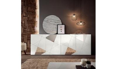LC Sideboard »Vittoria Sideboard«, Breite 241 cm, Front mit Siebdruck und Spiegelfront kaufen