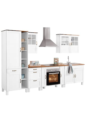 Home affaire Küchen-Set »Alby«, (Set, (7-tlg.), 325 cm breit, mit 35 mm starker... kaufen