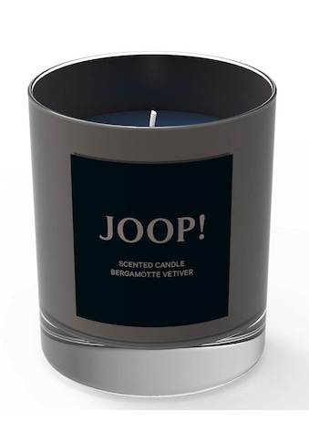 Joop! Duftkerze »Festive Candle - Gunmetal Bergamotte Vetiver«, FESTIVE COLLECTION kaufen