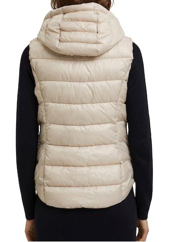 Esprit Steppweste, mit seitlichen Zippern kaufen