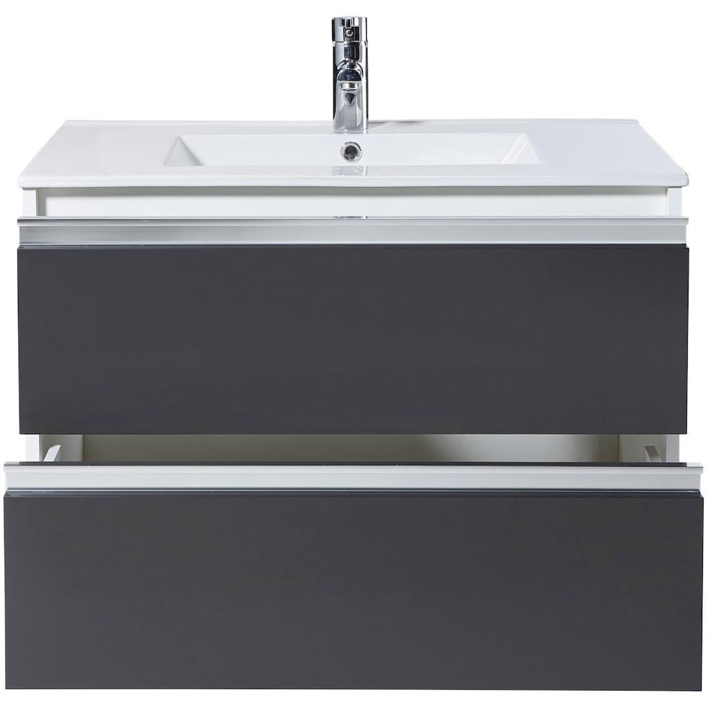Waschtisch »Fonte«, mit 2 Schubladen, 80 cm Breite